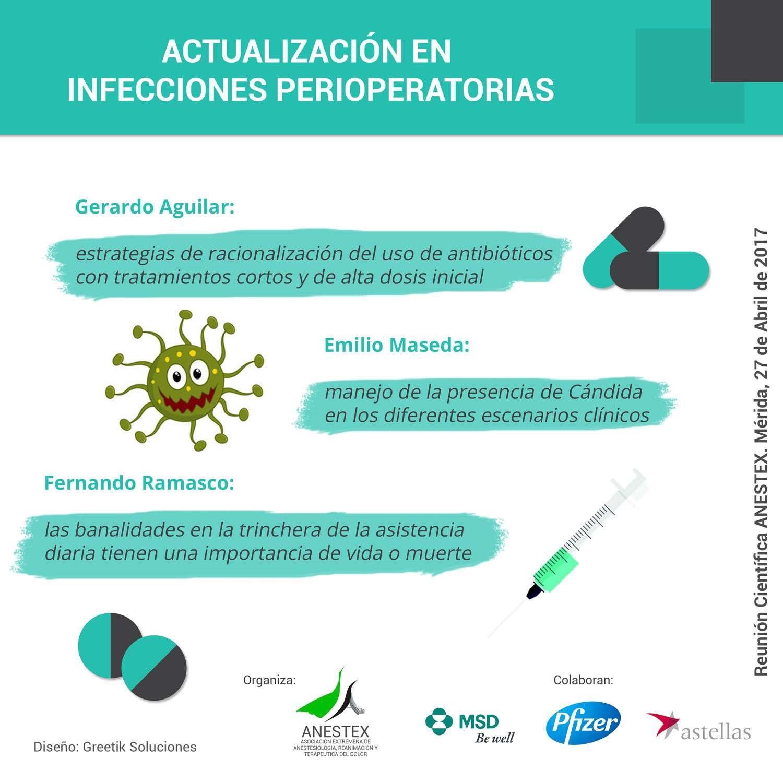 Infografía Reunión Científica ANESTEX
